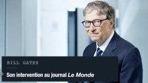 """Bill Gates : """"Notre Fondation a permis de sauver 20 millions de vie"""""""