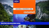 Deals in Books  Lonely Planet Diving   Snorkeling Cozumel (Lonely Planet Diving and Snorkeling