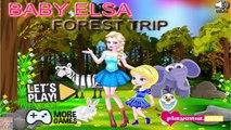 Baby Elsa Forest Trip - Frozen Princess Elsa Games for Kids  #Kidsgames #Barbiegames