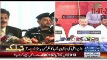 CM Sindh Murad Ali Shah's today Presser was a DRAMA