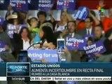 Incertidumbre en EE.UU. pues cualquier candidato puede ser presidente