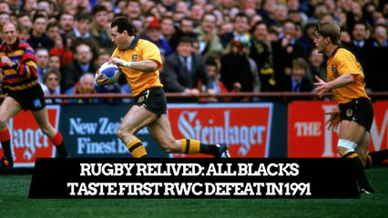Campese masterclass knocks out New Zealand in 1991 | Rugby ReLived