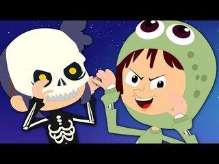 halloween is back | scary rhymes | nursery rhymes | baby rhymes | kids songs