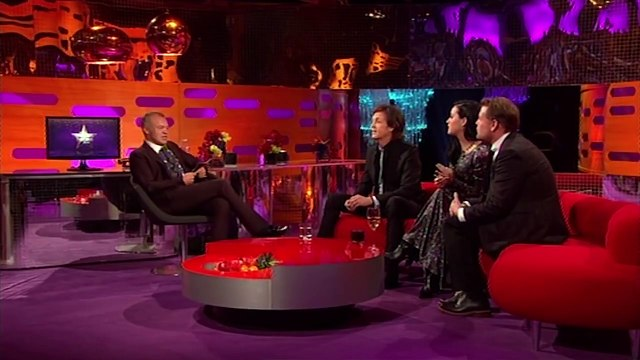 Katy Perry Slags Off Paul McCartney - The Graham Norton Show