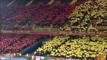 Ambiance au Stade Bollaert avant RC Lens VS AC Ajaccio