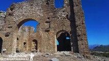 Aspendos Gezilecek Yerler - Agora ve Bazilika - 1