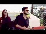 Virat & Anushka Sharma At Airport To Celebrate Virat Kohli's Birthday 2016