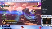 CrazyShow Live Dragon Ball Xenoverse 2 CrazyGold de la night (07/11/2016 22:41)