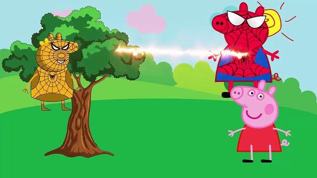 Peppa Pig Shopping - Peppa Pig Español Superhero and Maleficent