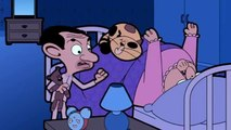 Mr Bean Cartoon - Trouble with the landlady