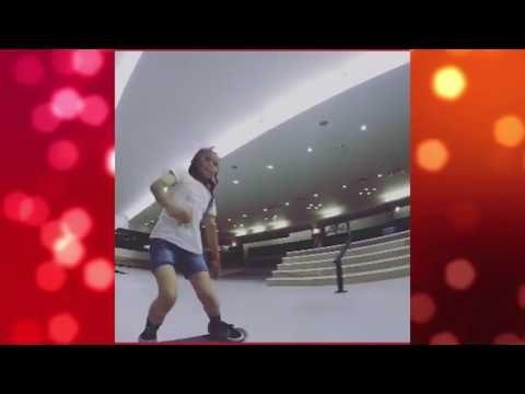 Esta garota de 8 anos humilha muito marmanjo quando o assunto é skate
