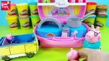 ᴴᴰ Peppa pig español ★ Peppa Pig Maletín pizzería ★ Peppa Pig Juguetes