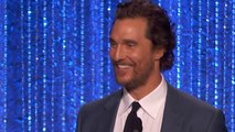 EXCLUSIVE: Former Co-Stars Kate Hudson and Matthew McConaughey Reunite at Hollywood Film Awards
