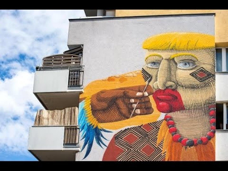 Top 12 tác phẩm nghệ thuật đường phố độc đáo nhất Châu Âu   Việt Vivu  