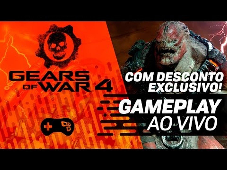 Gears 4 (XONE) - Desconto exclusivo e gameplay - Parte 3 - Campanha - Gameplay ao vivo!