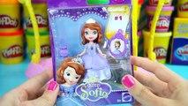 Disney Princesas español ★ Muñeca Princesa Sofia Plastilina Play doh ★ Juguetes de Play doh