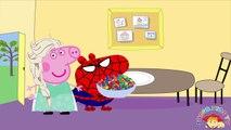 Peppa pig Español Doctor Visit! Peppa Pig English George Crying Get Sick Love Story Parody