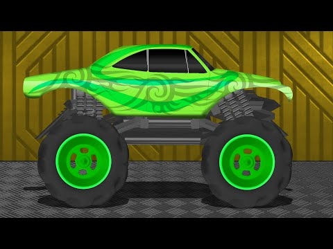 Monster Trucks | Big Trucks | Kids Children's Videos