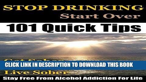 Best Seller Stop Drinking: Stop Drinking, Get Sober and Stay Free From Alcohol Addiction For Life