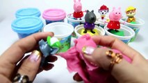 Kinder Surprise Eggs Peppa Pig Cute Dogs with Play Doh Peppa Pig Family Play Dough Set Episodes 2016