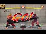 ULTRA STREET FIGHTER IV Treino com  Ken