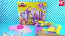 Disney Princesas español ★ Disena Vestidos Para Princesas Plastilina Play doh ★ Princesas Juguetes