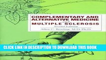 [PDF] Complementary and Alternative Medicine and Multiple Sclerosis Popular Collection