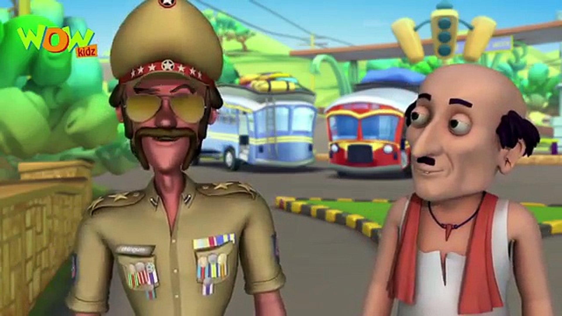 Motu Patlu Cartoon in Tamil - Invisible John - 2016