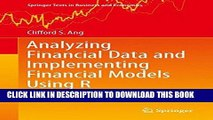 [PDF] Analyzing Financial Data and Implementing Financial Models Using R (Springer Texts in