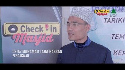 Ustaz Taha Hassan - Apa Kata Mereka? Program Check-In Masjid