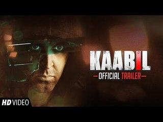 Kaabil Official Trailer | Hrithik Roshan, Yami Gautam | 26th Jan 2017
