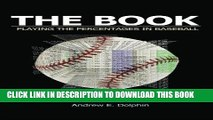 Video [PDF] The Book: Playing The Percentages In Baseball Popular Collection