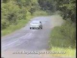 gros crash en clio rallye envol talut