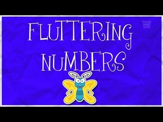 Counting Butterflies | Learn numbers from 1 to 13