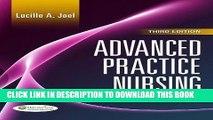 [PDF] Advanced Practice Nursing: Essentials of Role Development Full Collection