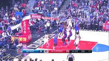 Detroit Pistons vs LA Clippers - 1st Half Highlights   November 7, 2016   2016-17 NBA Season