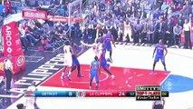 Los Angeles Clippers vs Detroit Pistons  Highlights  November 7, 2016  2016-17 NBA Season