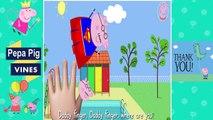 Peppa Pig Vines | Peppa Pig superman Finger Family Nursery Rhymes Lyrics by Peppa Pig Vines