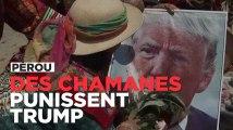 Pérou : des chamanes appellent les dieux à punir Donald Trump