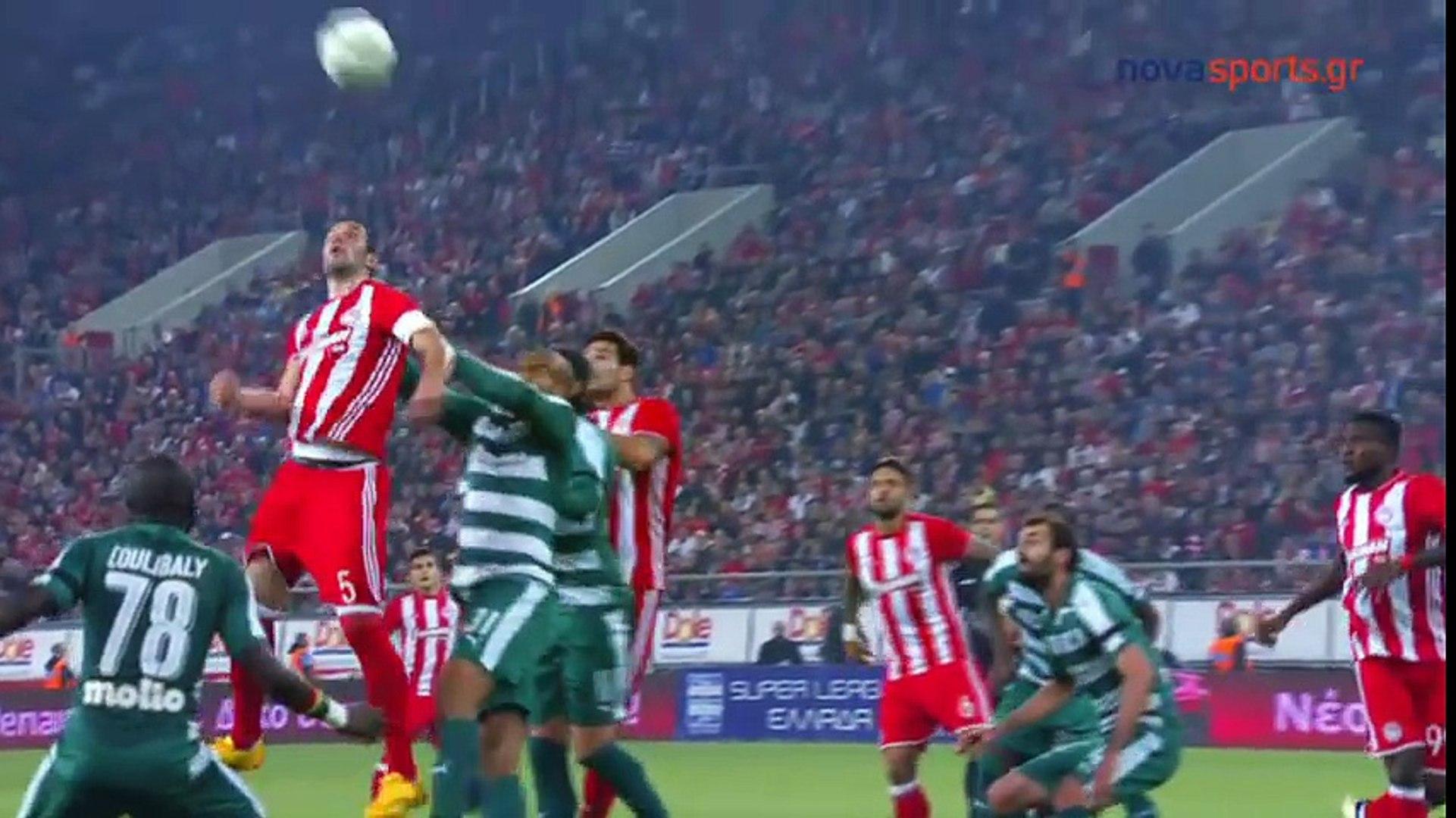 Superliga de Grecia 2016/17: Olympiacos 3 - 0 Panathinaikos (06.11.2016)