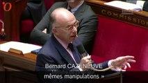 Bernard Cazeneuve fait la morale à Marion Maréchal-Le Pen à l'Assemblée