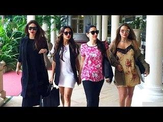 Kareena Walks For Vogue With Sister Karisma, Malaika & Amrita Arora