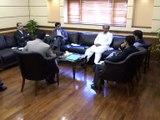 CM Sindh Syed Murad Ali Shah chairs Ijlas on Food Department in New Sindh Secretrait (08-Nov-2016)