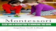 [PDF] Epub Montessori: The Science Behind the Genius Full Online
