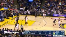 Stephen Curry 13 three pointers vs Pelicans - NBA record!