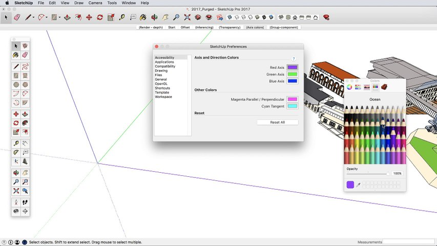 SketchUp 2017 What's new