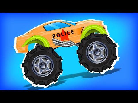 Monster Trucks | Trucks For Kids | kids videos