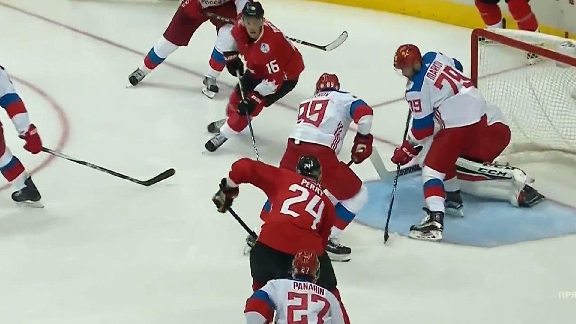 РОССИЯ - КАНАДА 3-5 ОБЗОР МАТЧА - ХОККЕЙ КУБОК МИРА 2016
