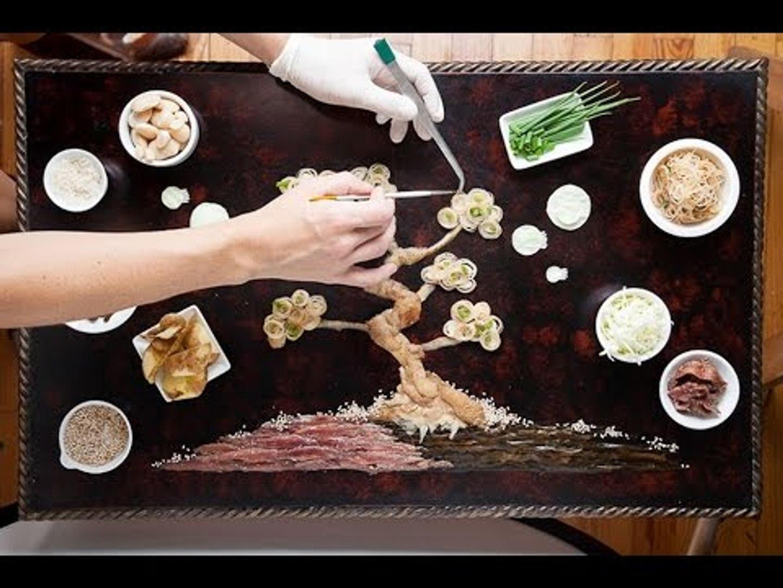 Top 11 tác phẩm độc đáo lấy cảm hứng từ nguyên liệu của đầu bếp | Việt Vivu |