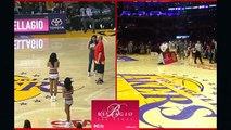 Lakers Fan Hits Halfcourt Shot to Win $35,000 - Suns vs Lakers - Nov 6, 2016 - 2016-17 NBA Season